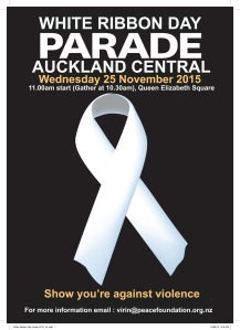 White Ribbon Parade - Auckland