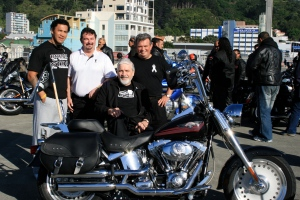 White Ribbon Ride with Ruben Wiki, Bruce Odom, Paul Curry, Brian Gardner