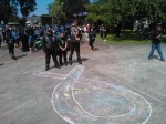 White ribbon Manaia school