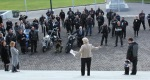 Annette King speaks to the White Ribbon Riders 2010