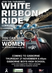 Gisborne White Ribbon Ride