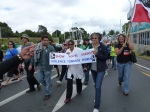 Waitakere March supporters