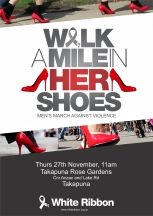Walk a Mile in Her Shoes Takapuna