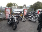 Bikes at Greymouth Baptist church.