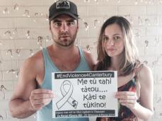 Dustin Clare & Camille Keenan are proud to support White Ribbon in their mission to end violence against women.