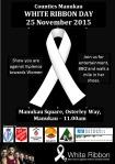 Whiet Ribbon Day - Manukau