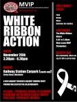White RIbbon Action - Blenheim