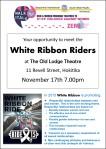 Soroptimists Hokitika present the White Ribbon Riders